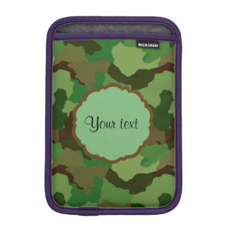 Camouflage iPad Mini Sleeve