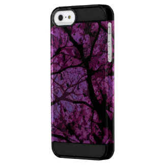 Camouflage Iphone marries (purble version) Clear iPhone SE/5/5s Case