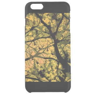 Camouflage Iphone marries (yellow version) Clear iPhone 6 Plus Case