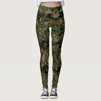 Camouflage Jah Army - power Yoga put-went Leggings
