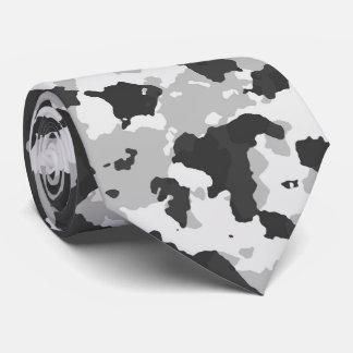 Camouflage khaki tie