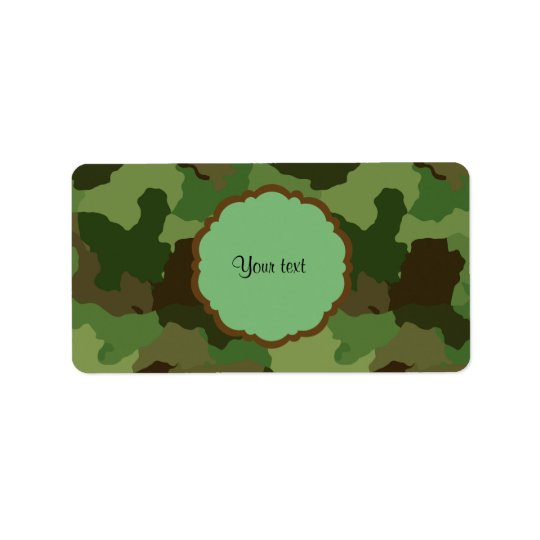 Camouflage Label