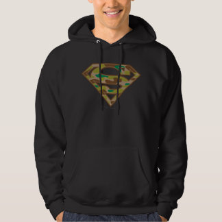 Camouflage Logo Hooded Pullovers
