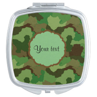 Camouflage Mirror For Makeup