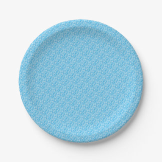 Camouflage Paper Plate