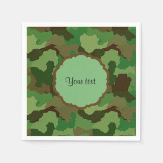 Camouflage Paper Serviettes