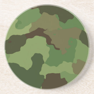 Camouflage Pattern Coaster