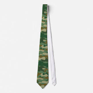 Camouflage pattern design neck tie | Camo colors