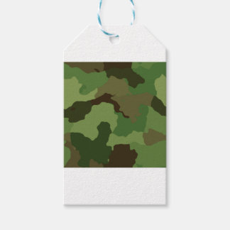 Camouflage Pattern Gift Tags