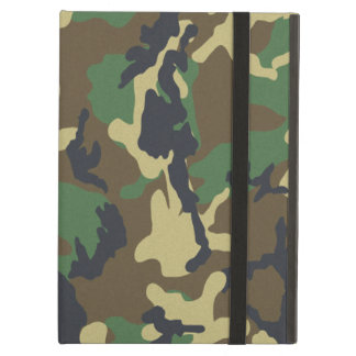 Camouflage Pattern iPad Air Covers