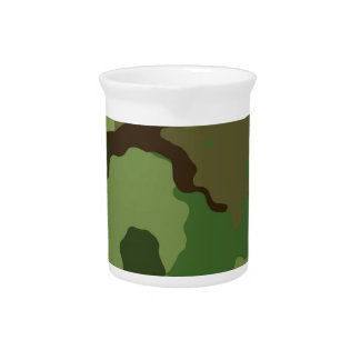 Camouflage Pattern Pitcher