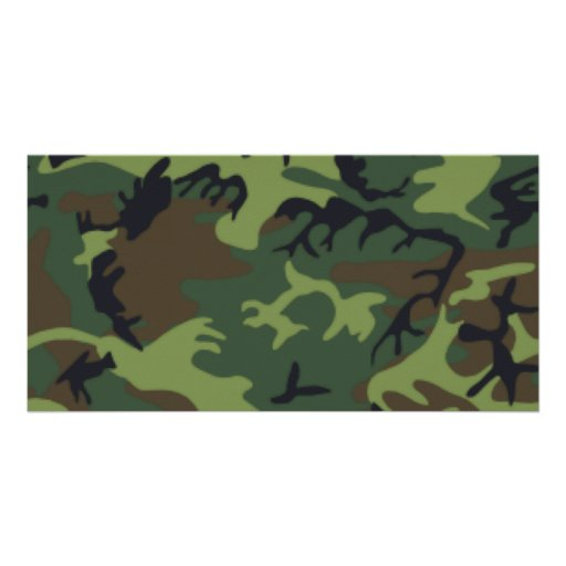 Camouflage Photo Cards