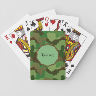 Camouflage Playing Cards
