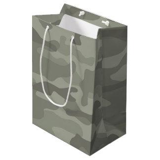 Camouflage Print Gift Bag
