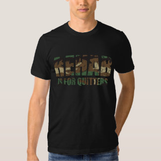 Camouflage Rehab is for Quitters T-shirt
