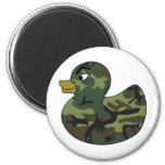 Camouflage Rubber Duck Refrigerator Magnet