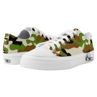 camouflage shoe printed shoes