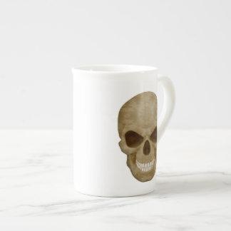 Camouflage Skull Bone China Mug