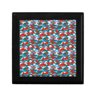 Camouflage Small Square Gift Box