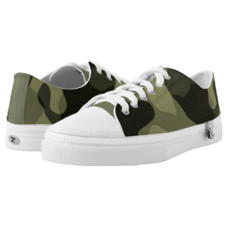 #Camouflage Sneakers darkgreen and black