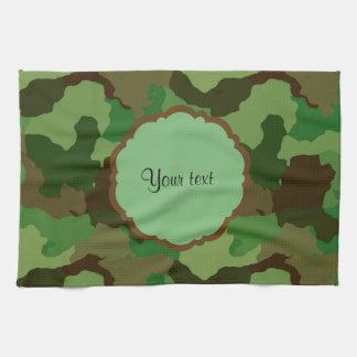 Camouflage Tea Towel