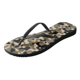 Camouflage Thongs