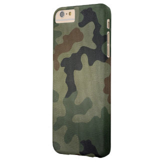 Camouflage Vintage Style Pattern Barely There iPhone 6 Plus Case