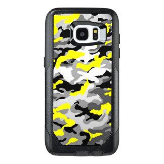 Camouflage Yellow Black Como Army Military Print