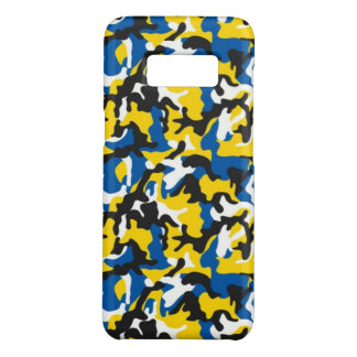 Camouflage Yellow Black Como Army Military Print Case-Mate Samsung Galaxy S8 Case