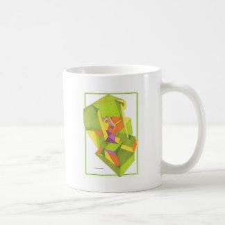 Camouflaged Basic White Mug