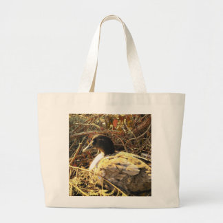 Camouflaged Duck Jumbo Tote Bag