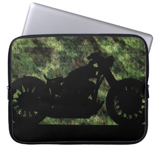 camouflaged motorcycle laptop computer sleeves