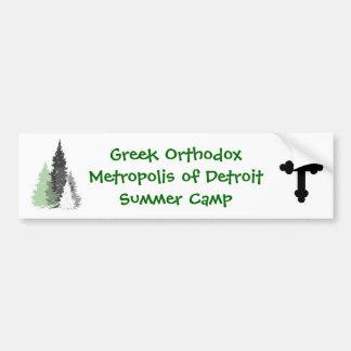 Camp Bumper Sticker
