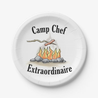 Camp Chef Extraordinaire Paper Plates