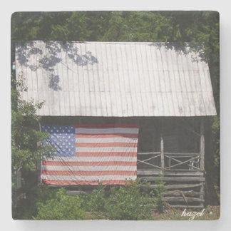 Camp Cherokee, Georgia, American Flag Coasters