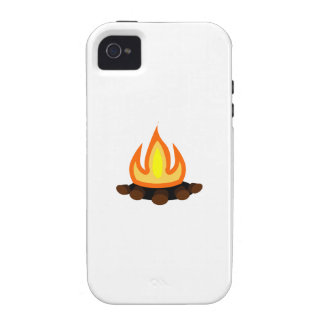 Camp Fire Vibe iPhone 4 Covers