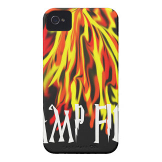 Camp Fire Cool Rich Texture Case-Mate iPhone 4 Cases
