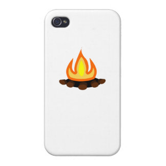 Camp Fire iPhone 4/4S Cover