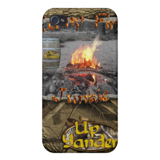 Camp Fire Junkie Cover For iPhone 4