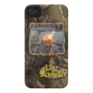 Camp Fire Junkie iPhone 4 Covers