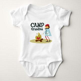 Camp Grandma Baby Bodysuit