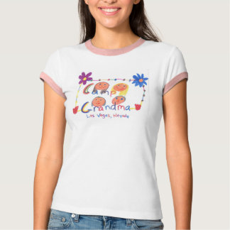 Camp Grandma Camper T-Shirt