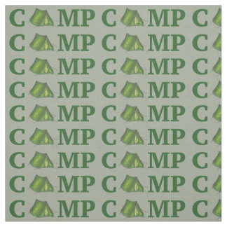 CAMP Green Tent Summer Camping Camper Fabric