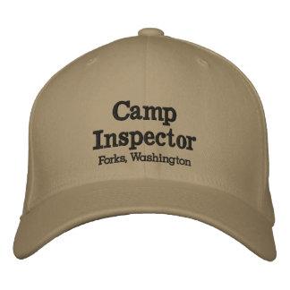 Camp Inspector Forks, Washington Hat Embroidered Baseball Caps