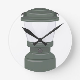 Camp Lantern Wall Clocks