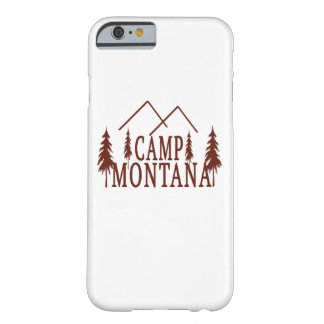 Camp Montana Barely There iPhone 6 Case