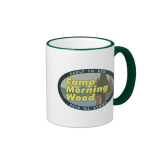 Camp Morning Wood drinkware Mug