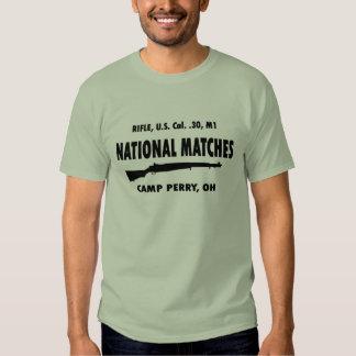 Camp Perry National Matches M1 Garand T Shirt