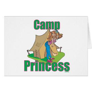 CAMP-Princess Greeting Cards