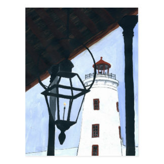 Camp Street Lighthouse Postcard